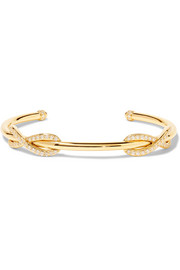 Tiffany & Co Double Infinity 18-karat gold diamond cuff