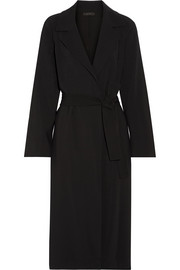 The Row Bruner belted cady coat