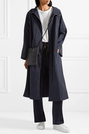 Haylen hooded shell coat