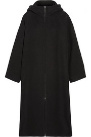 The Row Haylen hooded cotton and wool-blend coat