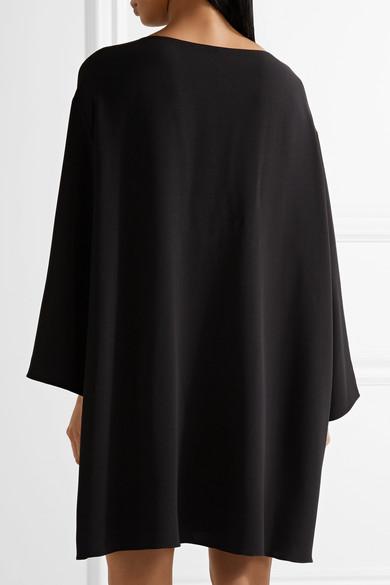 The Row Tharpe Minikleid aus Cady in Oversized-Passform