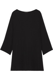 The Row Tharpe oversized cady mini dress