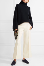 The Row Violina ribbed cashmere turtleneck sweater