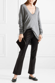 The Row Maita merino wool and cashmere-blend sweater