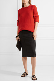 The Row Taby oversized chunky-knit cashmere sweater