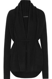 The Row Sarene belted cashmere cardigan
