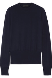 Denni merino wool-blend sweater