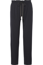 The Row Paco silk-blend straight-leg pants
