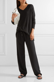 The Row Paco stretch-cady straight-leg pants