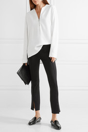 Thilde stretch-scuba skinny pants
