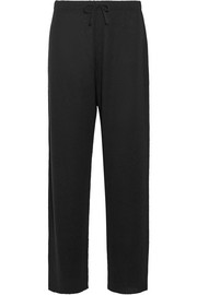 The Row Pepita cashmere and silk-blend pants