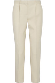 The Row William wool-blend canvas tapered pants