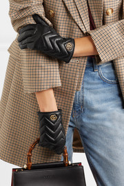 Gucci Quilted leather gloves
