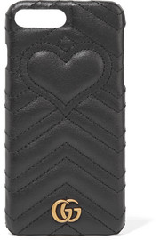 GG Marmont quilted leather iPhone 7 Plus case