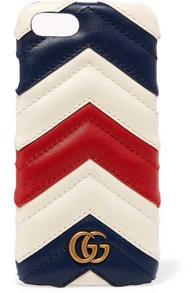 huge selection of 3f7da c2615 Quilted leather iPhone 7 case