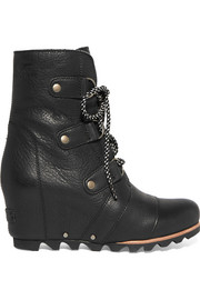 Sorel Joan of Arctic waterproof leather ankle boots