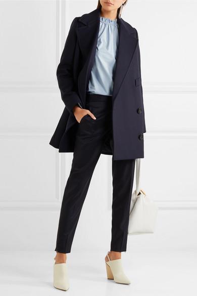 2018 Neu Zu Verkaufen Rabatt 2018 Neueste Stella McCartney Edith doppelreihiger Mantel aus Filz aus einer Wollmischung Am Billigsten QlxBjQ4DJo