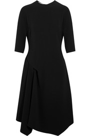 Stella McCartney Xandria asymmetric cady dress