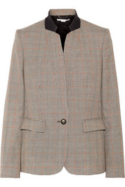 Fleur Princes of Wales checked wool blazer