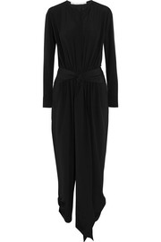 Stella McCartney Michelle silk-satin jumpsuit