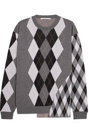 Stella McCartney Argyle wool sweater