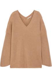 Stella McCartney Oversized ribbed wool sweater