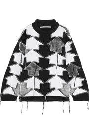 Stella McCartney Intarsia-knit wool sweater