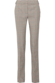 Stella McCartney Jodi Prince of Wales checked wool straight-leg pants