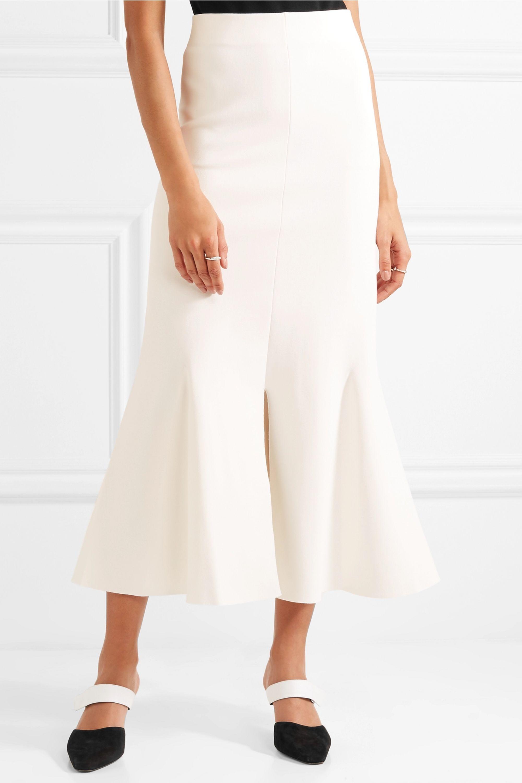 Stella McCartney Stretch-knit midi skirt
