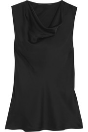 Stella McCartney Daisey draped silk top