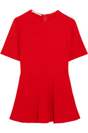 Stella McCartney Mirella stretch-crepe top
