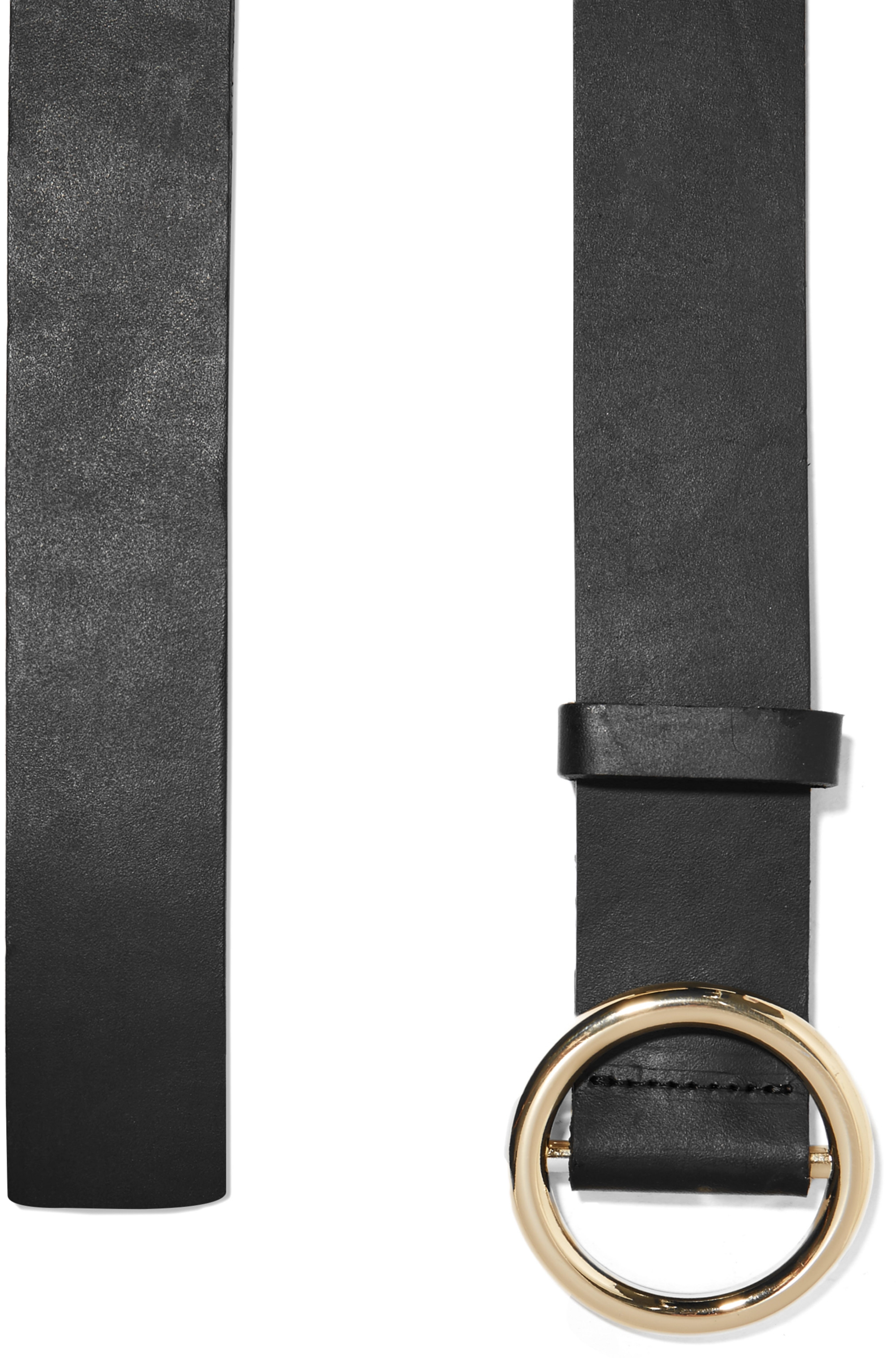 FRAME Le Circle leather belt