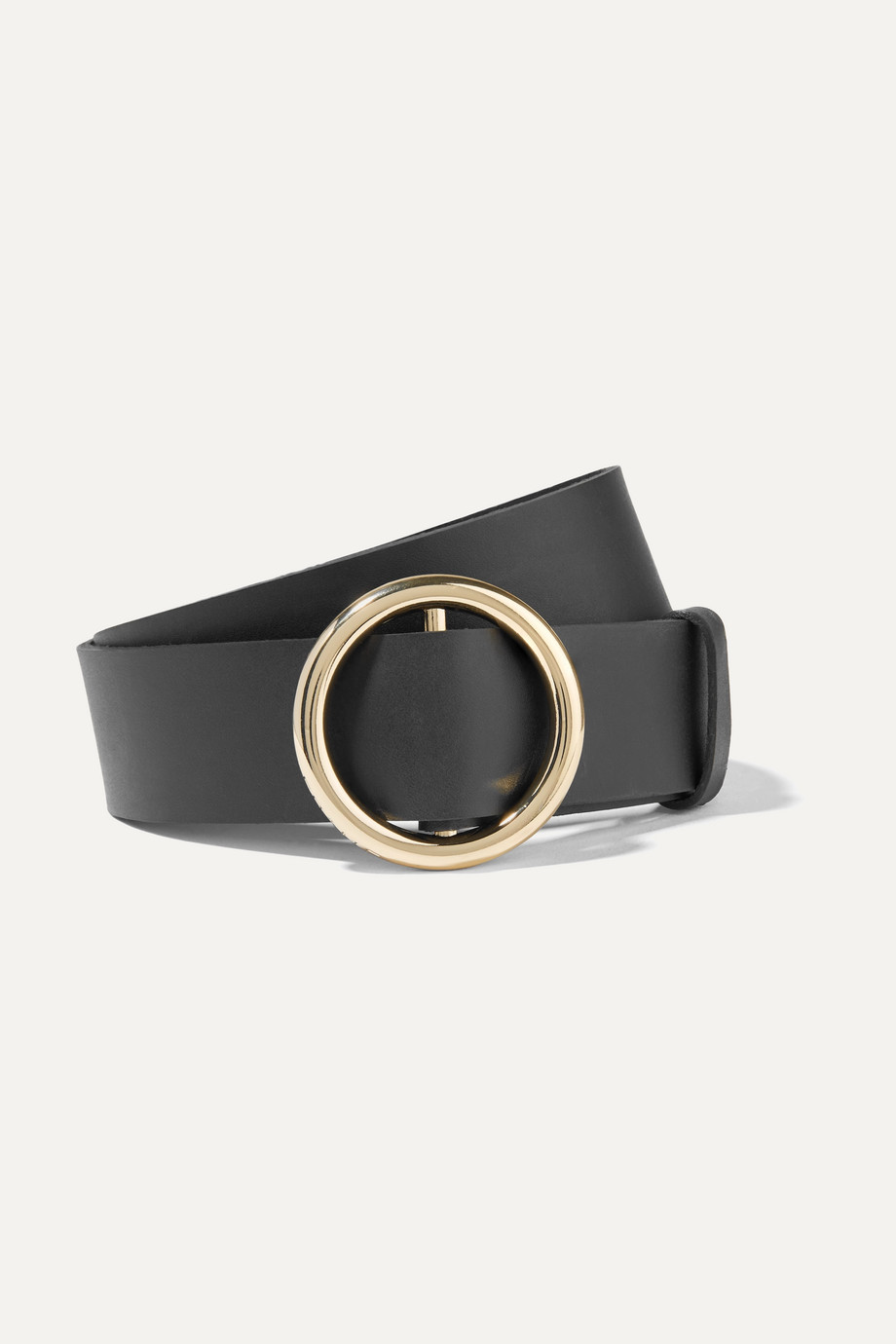 FRAME Le Circle leather belt