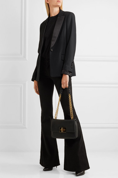 Tom Ford Tuxedo Blazer From Cady With Satin Ribbon And Braid