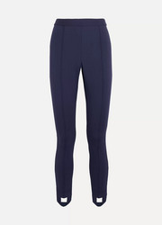 Tory Sport Stretch-jersey slim-leg stirrup pants