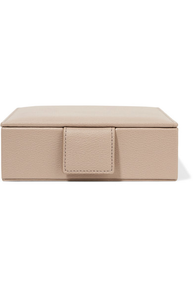 2b56665b4fa7 Smythson. Grosvenor textured-leather travel jewelry box