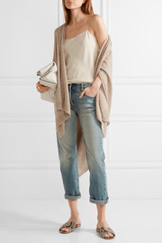 The Row Hern cashmere and silk cape