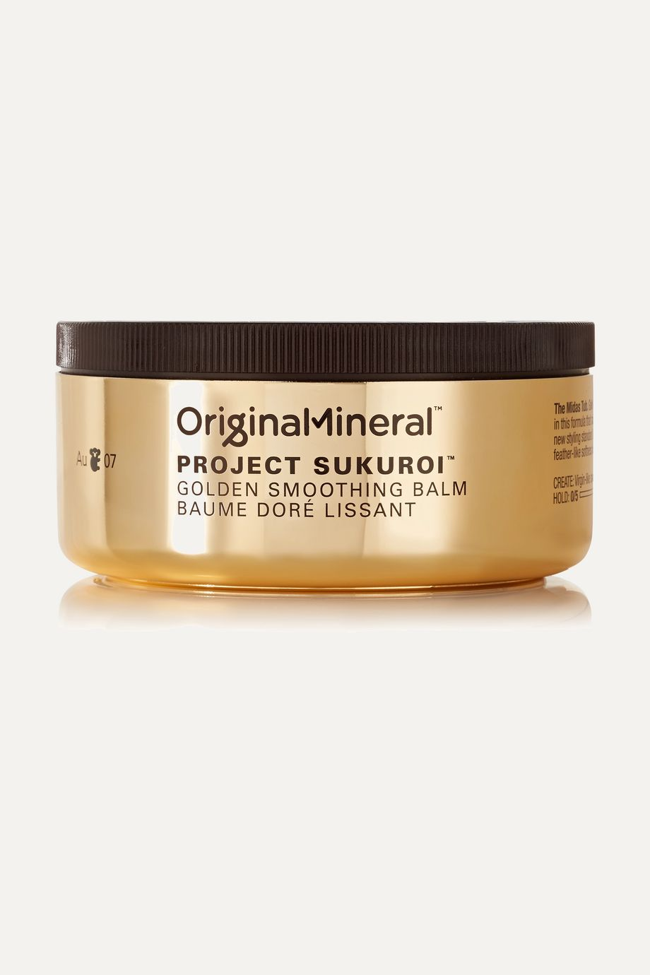 Original & Mineral Project Sukuroi Golden Smoothing Balm, 100g