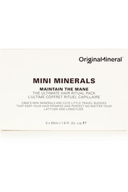 Original & Mineral Maintain the Mane The Ultimate Hair Ritual Pack, 5 x 50ml