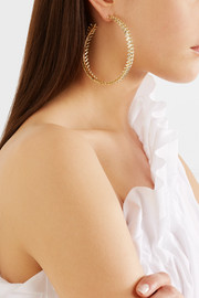 Rosantica Lisca gold-tone earrings