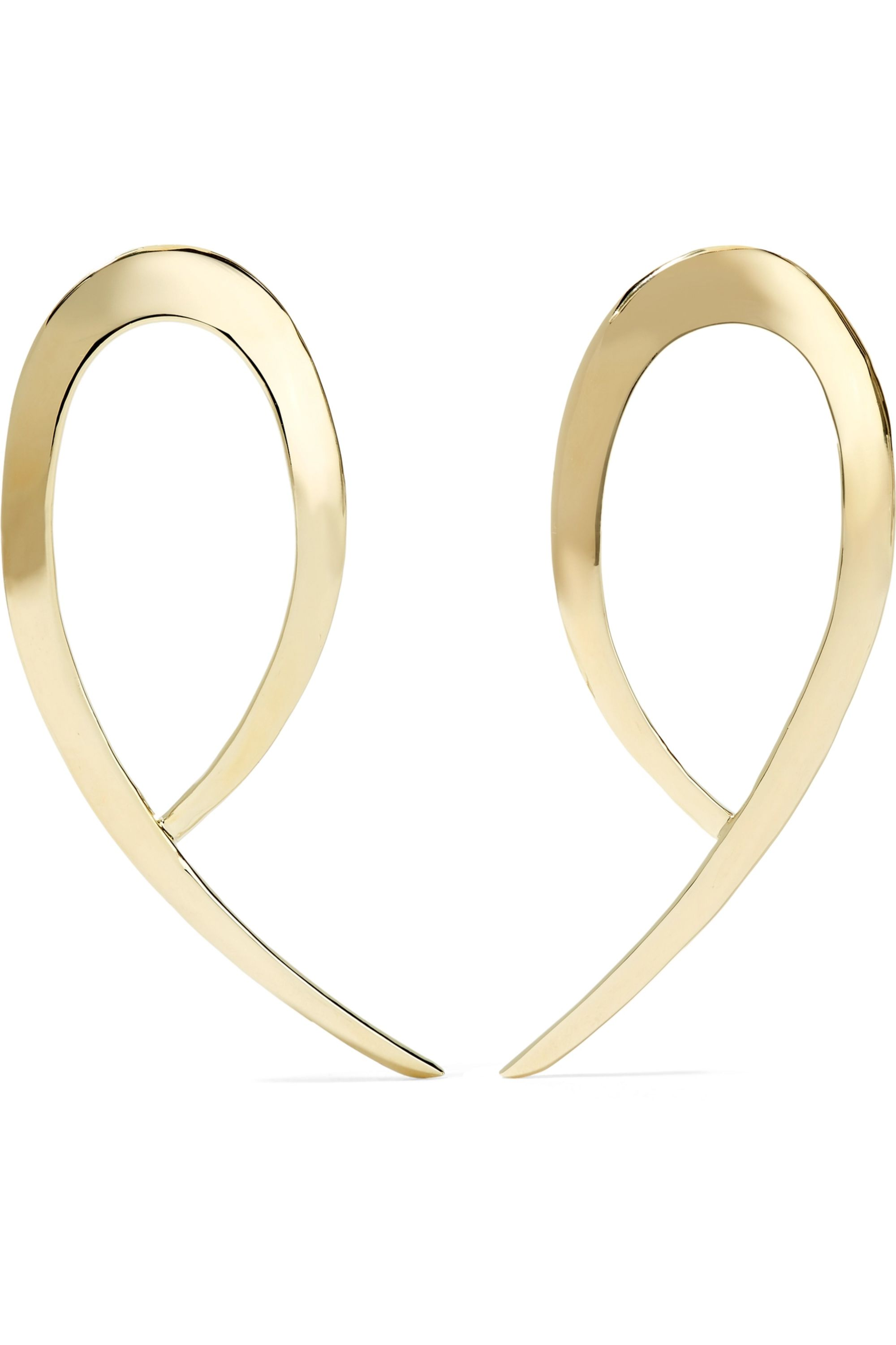 Jennifer Fisher XL Root gold-plated earrings