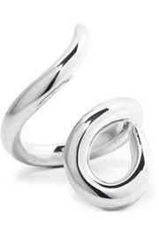 Root silver-plated ring