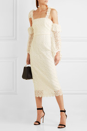 Pulitzer cutout guipure lace dress
