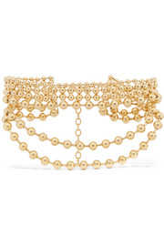 Vernon gold-plated choker
