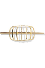 Elizabeth and James Solin gold-plated hair pin