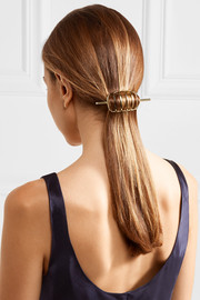 Solin gold-plated hair pin
