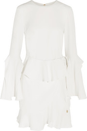 Rebecca Vallance El Chino ruffled crepe mini dress