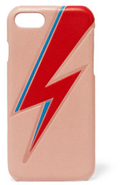 Bowie embossed leather iPhone 7 case