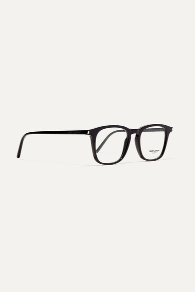aefcdbf4f4 Saint Laurent. Square-frame acetate optical glasses