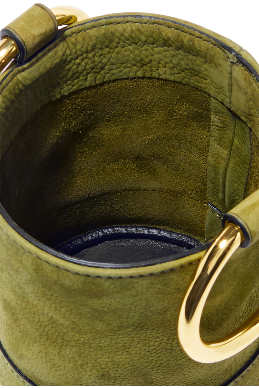 SIMON MILLER Bonsai 15 mini nubuck bucket bag